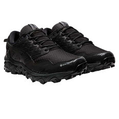 Asics Gel Fuji Trabuco 8 G TX Mens Trail Running Shoes Black US 6, Black, rebel_hi-res