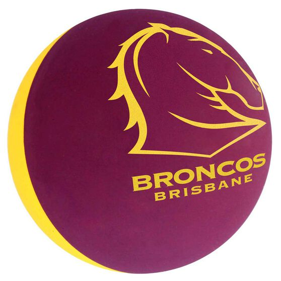 Brisbane Broncos High Bounce Ball, , rebel_hi-res