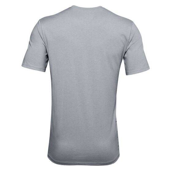 Under Armour Mens SC30 Bball Inspired Tee Grey L, Grey, rebel_hi-res