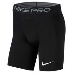 Nike Pro Mens Shorts Black S, Black, rebel_hi-res