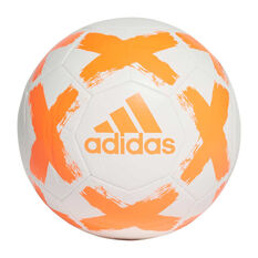 adidas Starlancer V Soccer Ball White / Orange 3, , rebel_hi-res