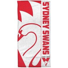 Sydney Swans Beach Towel, , rebel_hi-res