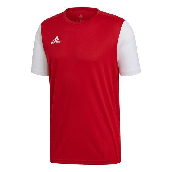 adidas Mens Estro 19 Football Jersey, Red, rebel_hi-res