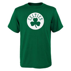 Boston Celtics Kids Primary Logo Tee Green S, Green, rebel_hi-res
