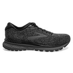 Brooks Adrenaline GTS 20 Mens Running Shoes Black US 7, Black, rebel_hi-res