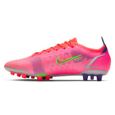 Nike Mercurial Vapor 14 Elite AG Football Boots Crimson US Mens 5 / Womens 6.5, Crimson, rebel_hi-res