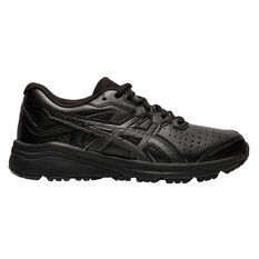 Asics GT 1000 SL Kids Running Shoes Black US 1, Black, rebel_hi-res