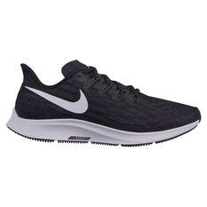 Nike Air Zoom Pegasus 36 Womens Running Shoes Black / White US 6, Black / White, rebel_hi-res