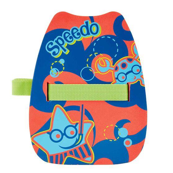 Speedo Sea Squad Back Float Red / Blue OSFA, , rebel_hi-res