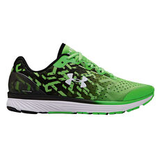 hot sale online f8d4f 4d592 Under Armour Charged Bandit 4 Kids Running Shoes Green   Black US 4, ...