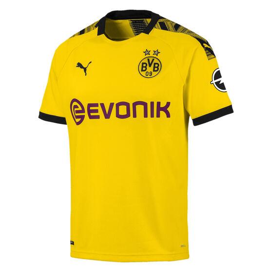 Borussia Dortmund Mens 2019/20 Home Jersey, Yellow, rebel_hi-res