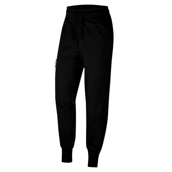 Nike Womens Sportswear Tech Fleece Pants, Black, rebel_hi-res