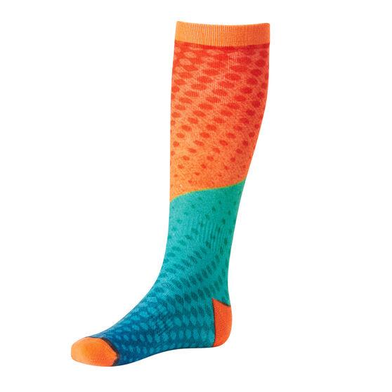 Tahwalhi Kids Sunset Ski Socks, , rebel_hi-res