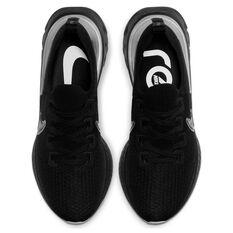 Nike React Infinity Run Flyknit Mens Running Shoes Black / Grey US 8, Black / Grey, rebel_hi-res