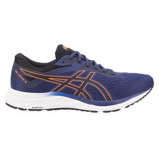 Asics GEL Excite 6 Mens Running Shoes Blue / Orange US 7, Blue / Orange, rebel_hi-res