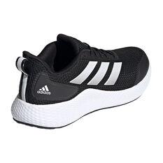 adidas Edge Gameday Mens Running Shoes, Black/White, rebel_hi-res