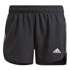 adidas Womens Run It Shorts Black XS, Black, rebel_hi-res