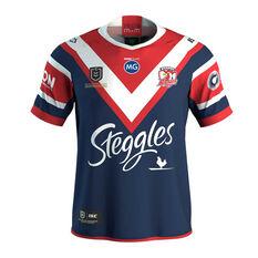 Sydney Roosters 2019 Kids Premiers Jersey Blue / Red 8, Blue / Red, rebel_hi-res