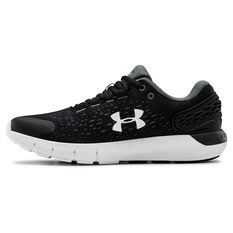 Under Armour Charged Rogue 2 Womens Running Shoes Black / Grey US 6, Black / Grey, rebel_hi-res