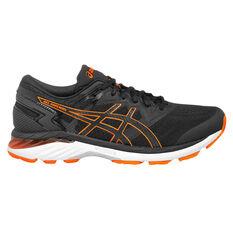 Asics GEL Superion 3 Mens Running Shoes Black/Orange US 7, , rebel_hi-res