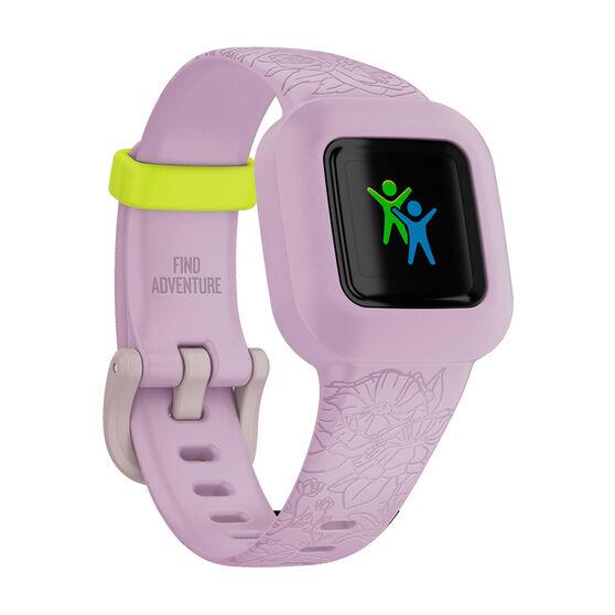 Garmin VivoFit JR3 Activity Tracker - Lilac Floral, , rebel_hi-res