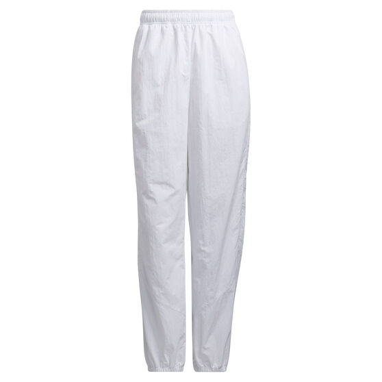 adidas Womens Fashion Woven Pants, White, rebel_hi-res