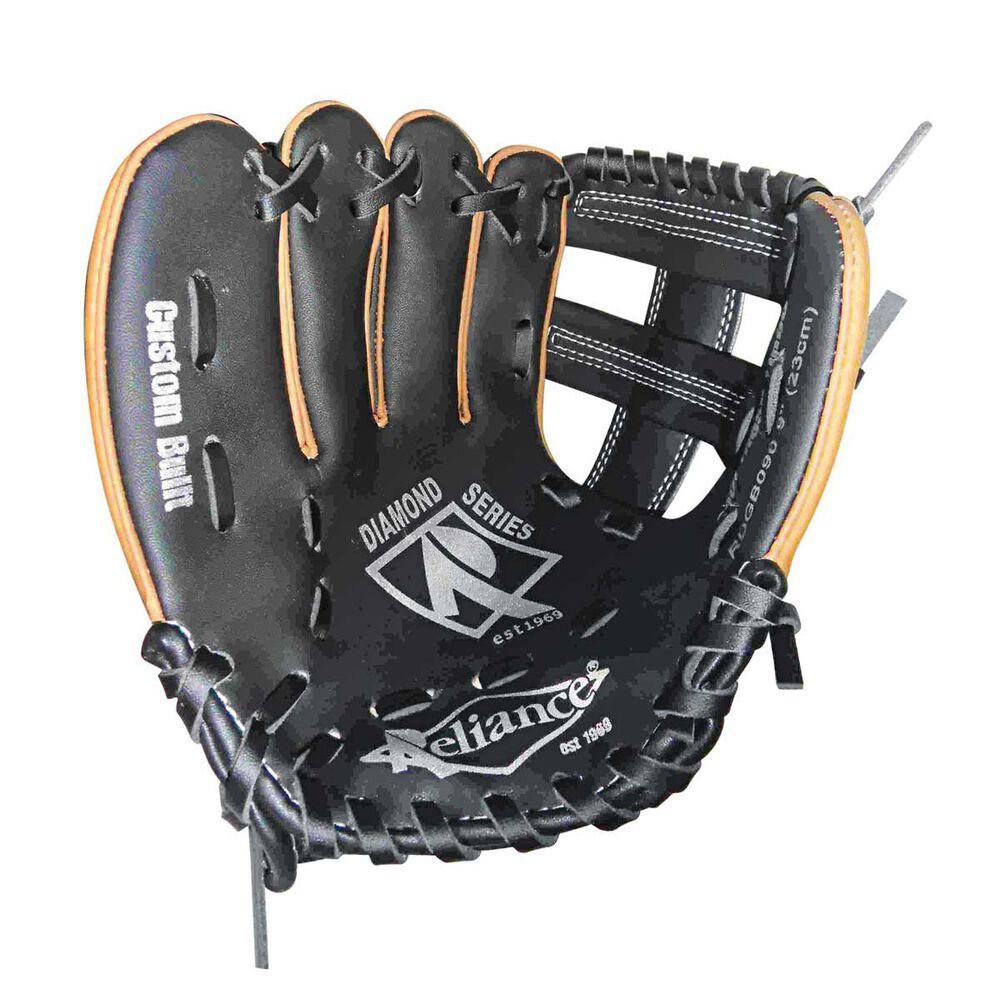 Rebel Sport Inner Gloves: Reliance Diamond 9in Left Hand Throw Baseball Glove