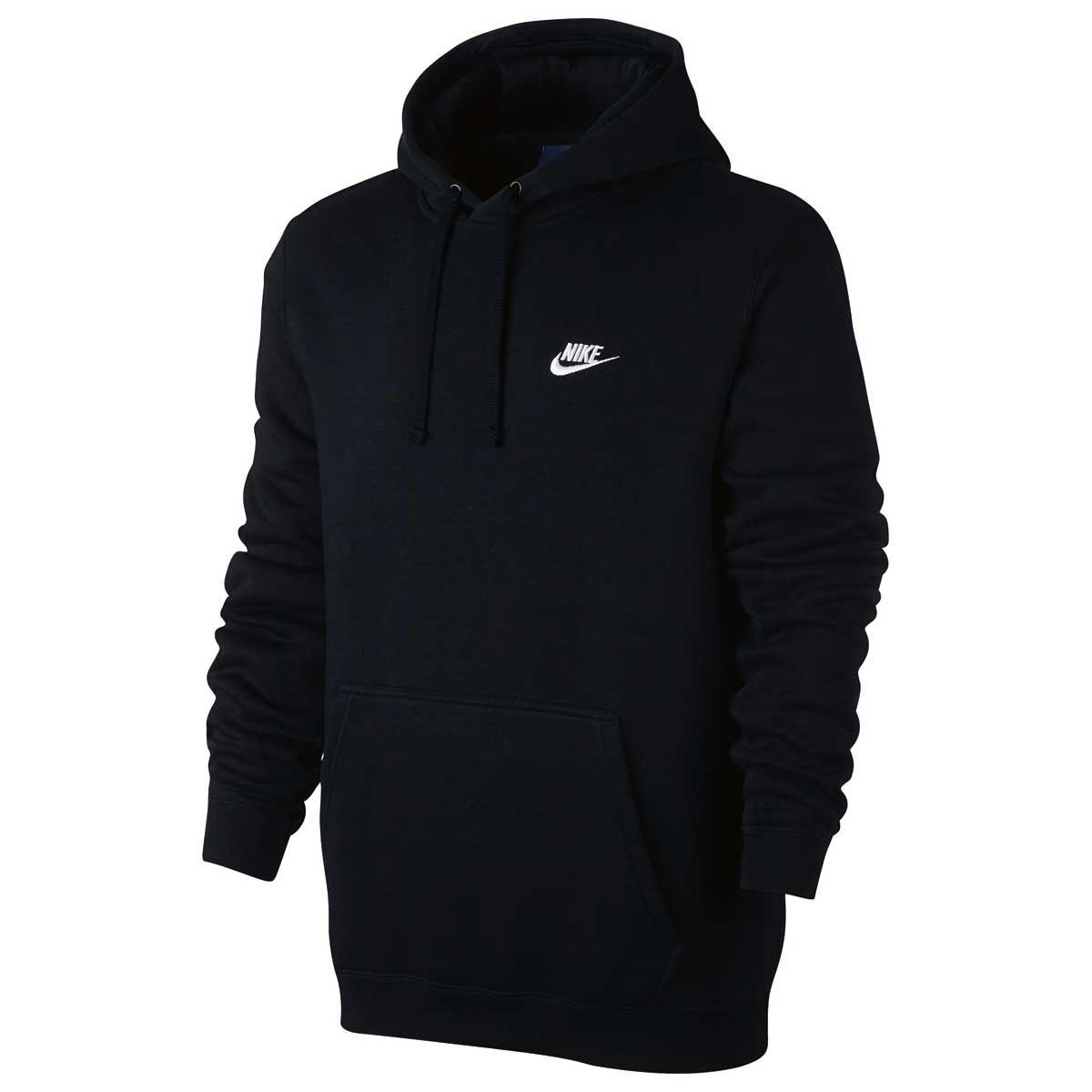 Nike Mens Sportswear Club Hoodie Black L