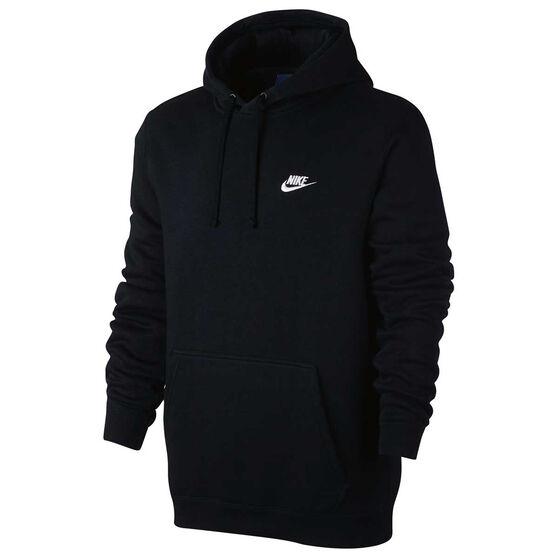 294d8fc5cd Nike Mens Sportswear Club Hoodie Black M