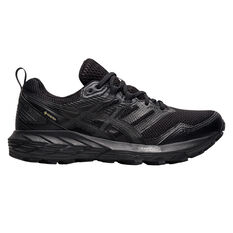 Asics GEL Sonoma 6 G-TX Womens Trail Running Shoes Black US 6.5, Black, rebel_hi-res
