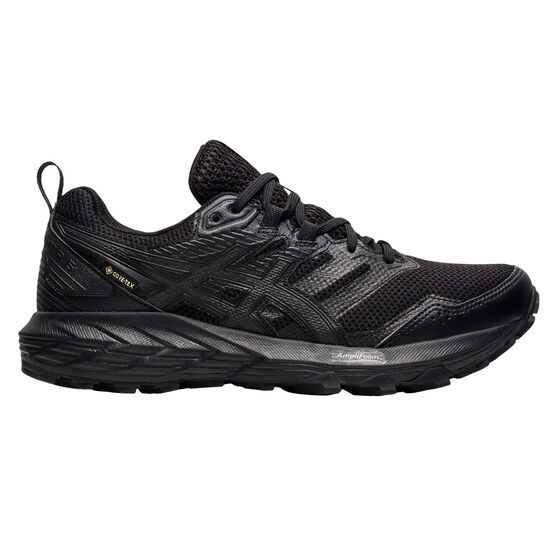 Asics GEL Sonoma 6 G-TX Womens Trail Running Shoes, Black, rebel_hi-res