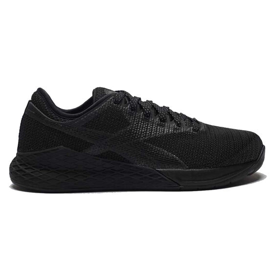 Reebok Nano 9 Womens Training Shoes, Black, rebel_hi-res