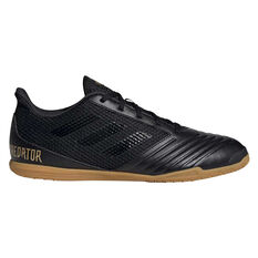 adidas Predator 19.4 SALA Indoor Soccer Shoes Black US Mens 7 / Womens 8, Black, rebel_hi-res