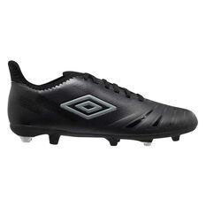 Umbro UX Accuro III Club Football Boots Black US Mens 7 / Womens 8.5, Black, rebel_hi-res