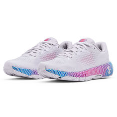 Under Armour HOVR Machina 2 Womens Running Shoes, White/Pink, rebel_hi-res