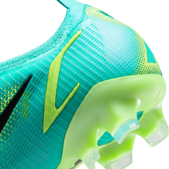 Nike Mercurial Vapor 14 Elite Football Boots Blue/Lime US Mens 8.5 / Womens 10, Blue/Lime, rebel_hi-res