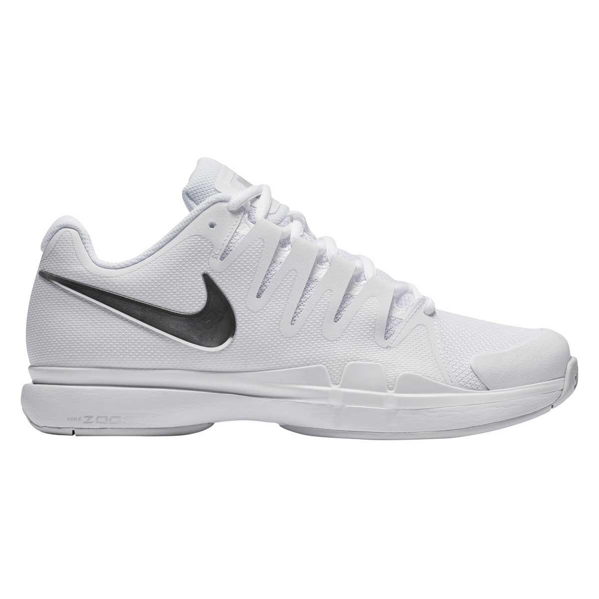 Nike Zoom Zapatos Vapor Tour Mujeres Tennis Zapatos Zoom Blanco  Silver Us e9bf82