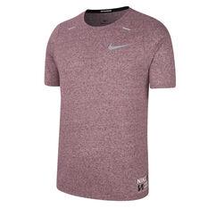 Nike Mens Dri-FIT Rise 365 Future Fast Running Tee, Purple, rebel_hi-res