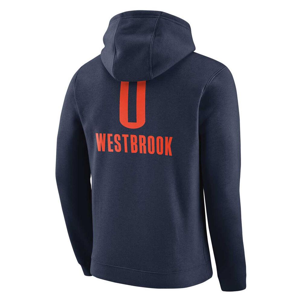 Oklahoma City Thunder Mens Russell Westbrook NBA Hoodie XL  59105dd351b