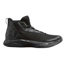 pretty nice e1ee5 8e535 Under Armour Jet 2018 Kids Basketball Shoes Black US 4, Black, rebel hi-res  ...