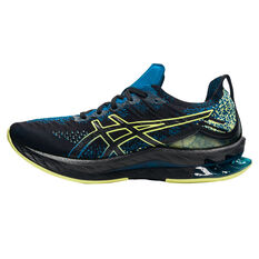 Asics Kinsei Blast Mens Running Shoes Black/Yellow US 8, Black/Yellow, rebel_hi-res
