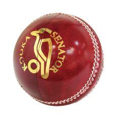 Kookaburra Senator Cricket Ball Red 142g, , rebel_hi-res