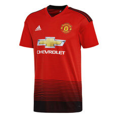 new product 6a50a 9d14c Manchester United 2018  19 Mens Home Jersey, , rebelhi-res. Adidas