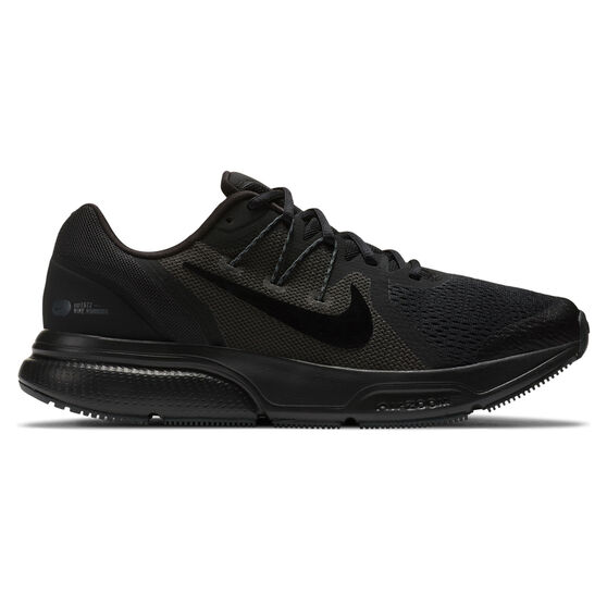 Nike Zoom Span 3 Mens Running Shoes, Black, rebel_hi-res