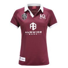QLD Maroons State of Origin 2020 Womens Home Jersey Maroon 8, Maroon, rebel_hi-res