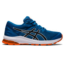 Asics GT 1000 10 Kids Running Shoes Blue US 4, Blue, rebel_hi-res