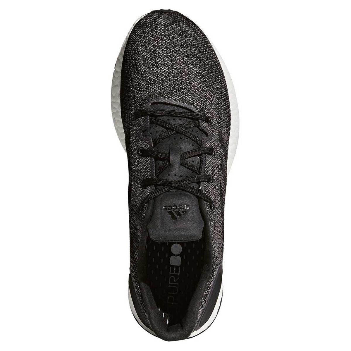 adidas Pureboost DPR Mens Running Shoes Black Grey US 10