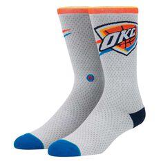 Stance Mens Oklahoma City Thunder Jersey Sock, , rebel_hi-res