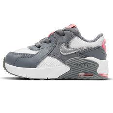 Nike Air Max Excee Toddler Shoes Grey/Pink US 4, Grey/Pink, rebel_hi-res