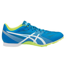 Asics Hyper MD 6 Mens Track and Field Shoes Blue / Yellow US 8.5, Blue / Yellow, rebel_hi-res